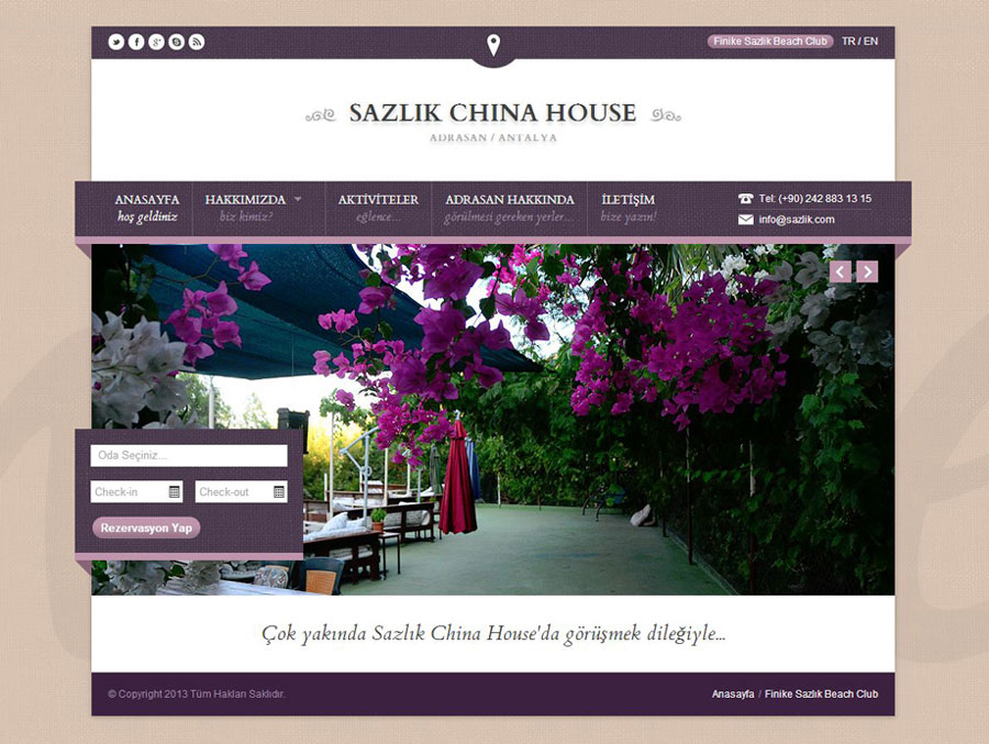 Sazlık China House