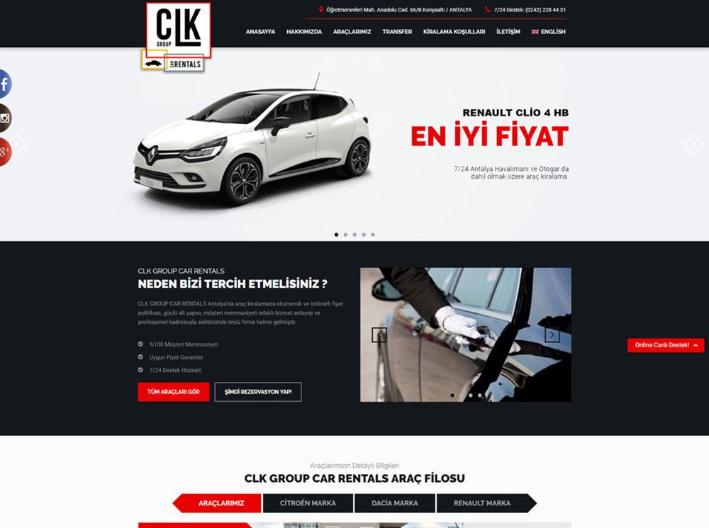 CLK Car Rentals